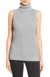 Michael Kors Women's Shaker Knit Turtleneck Sweater - Grey - Size: Small