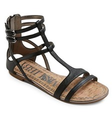 Women's Sam & Libby Hadlee Gladiator Sandals - Black - Size: 6.5