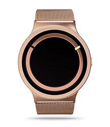 ZIIIRO Women's Eclipse Metallic Watch - Rose Gold
