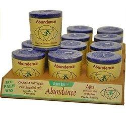 Aloha Bay - Chakra Energy Votive Candle Abundance - 2 oz.