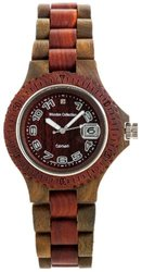 Tense Sports Wood Watch Men's Two Tone Sandalwood Green G4100GS