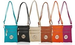 MKF Women's Arabelle Exceptional Crossbody Handbag - Black
