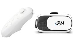 Ipm 3d Virtual Reality Glasses With Bluetooth Remote Control 1022252