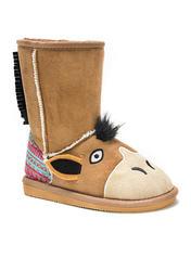 Muk Luks Zoo Babies Kids Boots: Scout Horse/11