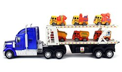 Velocity Toys Super Construction Power Trailer