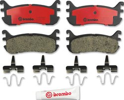 Brembo P49046N Replacement Rear Disc Brake Pad