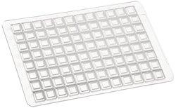 Brand Tech 701362 Mat 96-Well Deep Well Plate Mat 24Pk - White - 2.2mL