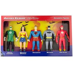 DC Comics Justice League Superheroes Bendable Boxed Set