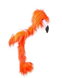 Sunny Toys WB922 Large Marionette Flamingo - Orange/Red - Size: 38""