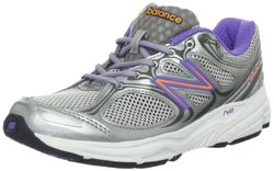 New Balance Women's Running Shoe - Silver/Purple - Size: 10.5