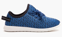 Form & Focus Women's Heathered Runner Shoes - Blue - Size: 10