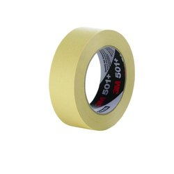 3M Case of 24 Specialty High Temperature Masking Tape 501Plus