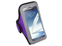 MyBat Sport Armband For Samsung Galaxy Note 2 - Purple