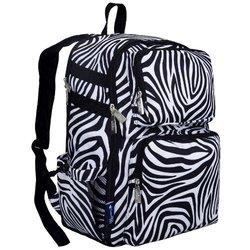 Wildkin Zebra Versa Stripe Backpack