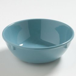 "Carlisle CFS4385863 Dayton Nappie Bowl, 16 oz., 2-1/5"" Height, 5-3/4"" Diameter, Melamine, Turquoise, 48 Per Case"