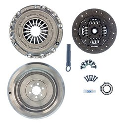 Exedy OEM VWK1000A Replacement Clutch Kit (Includes Solid FW Replacement for OEM Dual Mass FW Sold as Kit Only)