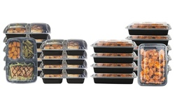 Glomery Reusable Food Storage Containers - 1 Compartment-24oz/14 Pack