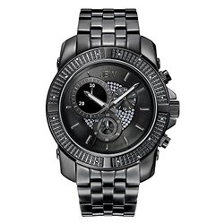 Jbw Warren Diamond Watch: J6331c/black Ion-plated Stainless Steel