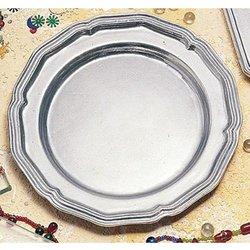 7 3/4 inch Queen Anne Dessert Plate Sandstone White 12 Ct