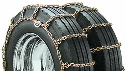 Security Chain Company QG4145 Quik Grip Square Rod Alloy CAM Style Truck Dual and Triple Tire Traction Chain - Pack of 1