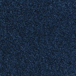 Andersen 100 TriGrip Nylon Fiber Interior Floor Mat, Non-Woven Polyester and SBR Rubber Backing, 10' Length x 3' Width, Navy Blue