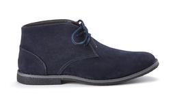Oak & Rush Men's Micro Suede Chukka Boots - Navy - Size: 12