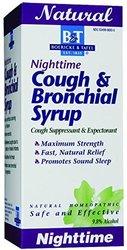 Boericke & Tafel Nighttime Cough & Bronchial Syrup - 3x - 8 oz
