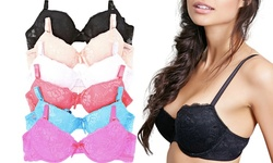 6-pack Unlined Full Cup Lace Bra Size: 34b