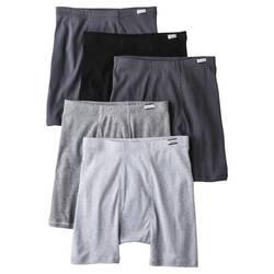 Hanes Men's 5-Pack ComfortSoft Boxer Briefs - Assorted - Size: XL