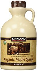 Kirkland Signature 100 % Maple Syrup 33.8 Oz - Dark Amber
