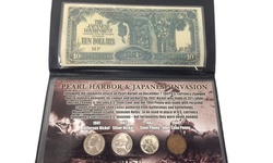 Pearl Harbor Coin & Invasion Note Coin set