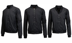 Men's Lightweight Fleece Jacket Black - Size: Medium