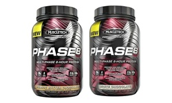 Muscletech - Phase8 Protein  - 20141013NAF09 2lbs White Chocolate US