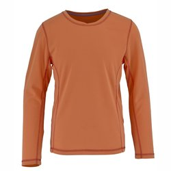 White Sierra Girls Sunny Long Sleeve T-Shirt - Melon - Size: XX-Small
