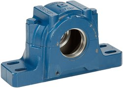 SKF 4 Bolts Cast Iron Spherical Roller Bearing Housing (FSAF-520)