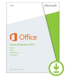 Microsoft Office Home and Student 2013 for PC (79G-03774)