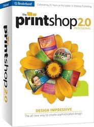 Print Shop 2.0 Professional Old Version Software for Windows 7/Vista