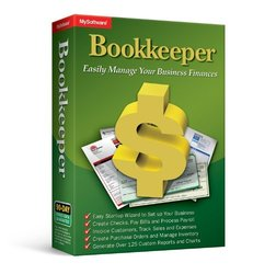 "Bookkeeper ""Easily Manage Your Business"" Finances Software Windows 7/XP/8"