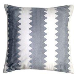18Inx18in Nate Berkus Toss Decorative Pillow - Grey/White