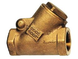 "Milwaukee 1-1/4"" Swing Y Check Valve - Bronze"