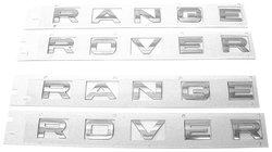 URO Parts LT-RANGEROVER Front & Rear Letter