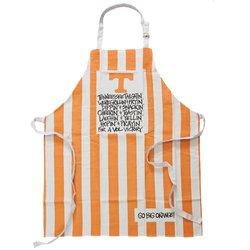 Magnolia Lane University of Tennessee Volunteers Apron - Orange & White