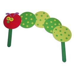 Fun Express Paper Caterpillars Craft Kit - Pack of 24