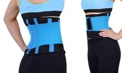 Unisex Ultra Woekout Supportive Exo-Belt - Blue