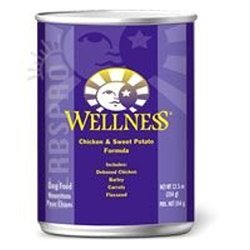 Wellness Chicken and Sweet Potato Canned Dog Food - 12.5 Oz
