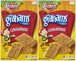 Keebler Graham Crackers - Cinnamon - 14 oz - 2 pk