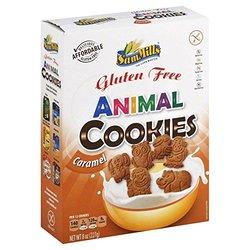 SAM MILLS COOKIE GF ANIMAL CARAMEL-8 OZ -Pack of 7 17.5 x, vanilla