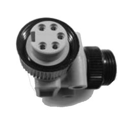DeviceNet Mini-Change Gender Changer Right Angle M2F Connector (115032A)