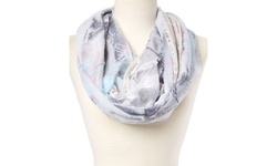 Women's Infinity Spring Scarf Infinity Loop - Light Blue