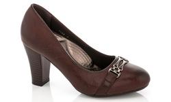 Rasolli Women's Comfort Career Dress Shoes - Brown - Size: 8